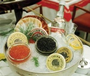 Russian Caviar Bar St. Petersburg