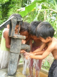 Eco-Travel Cambodia Children Well