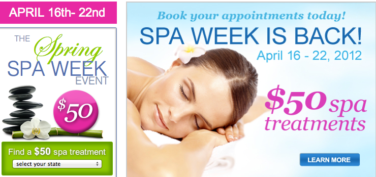 Spa Week in Chicago kicked off on Monday, and during this fabulous time we have the opportunity to enjoy discounted treatments for $50 at more than 25 area spas and salons.