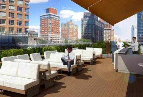 Conrad Rooftop Bar