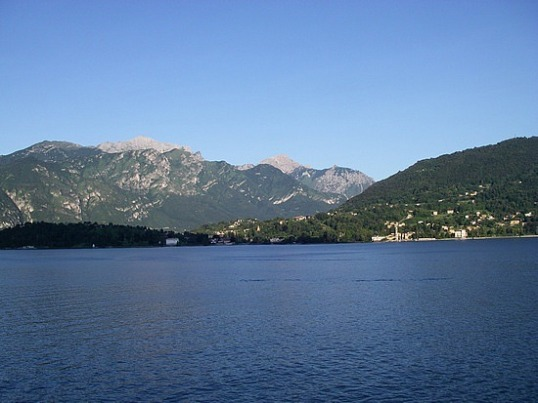 The View of Lake Como from the Hotel Grand Tremezzo