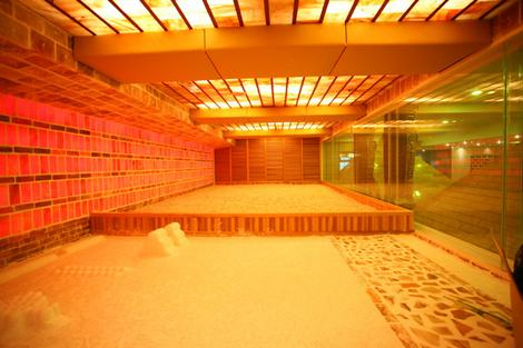 Dragon Hill Spa's Crystal Salt Room - Seoul