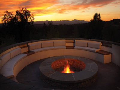 The Fire Pit at The Four Seasons