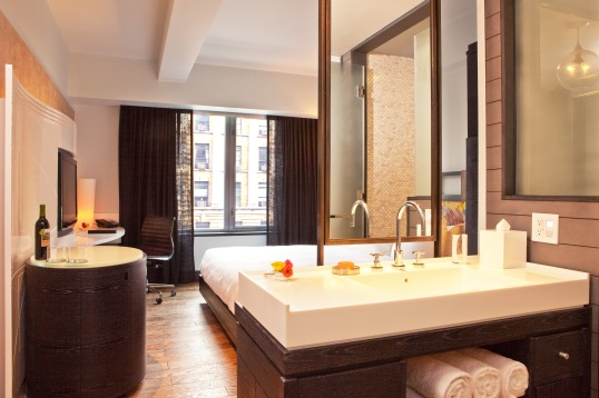 Guest Room at the new Hyatt Union Square (Opening April 2013)