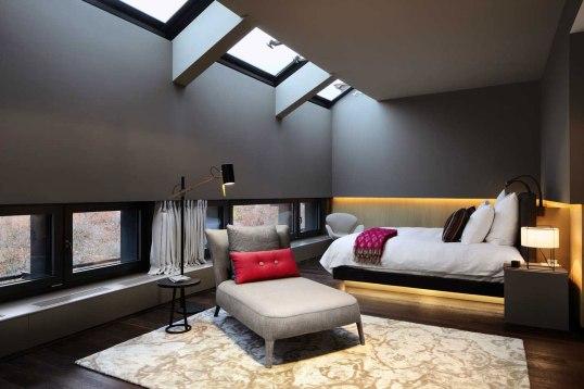Here's to sleek modern design...
