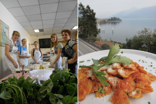 The Menaggio Youth Hostel's Cooking Classes - Lake Como, Italy
