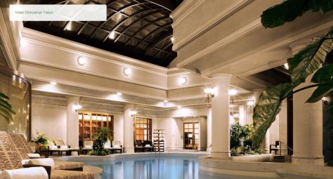 Hotel Chinzanso's Spa