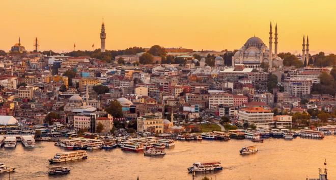 Istanbul at Dusk (c) Ritz Carlton Istanbul