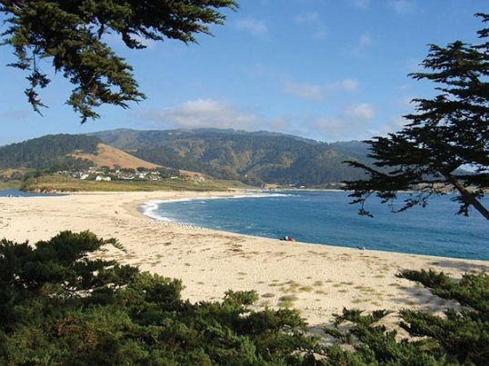 A View of Carmel-by-the-sea