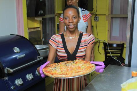 Pizza at Daisy's