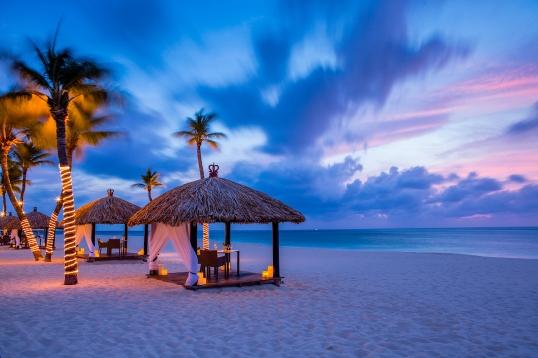 Bucuti's Romantic Beachside Huts