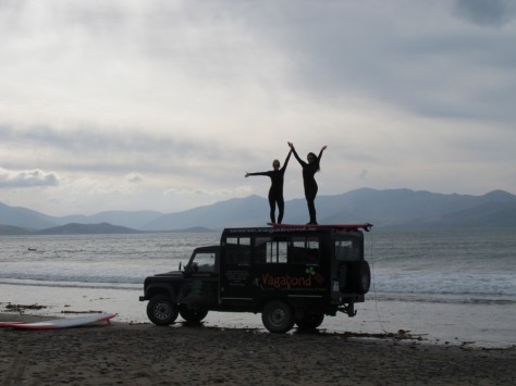 Surfing in Ireland with Vagabond Tours (because... why not?)