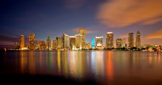 Miami at dusk (c) Robin Hill