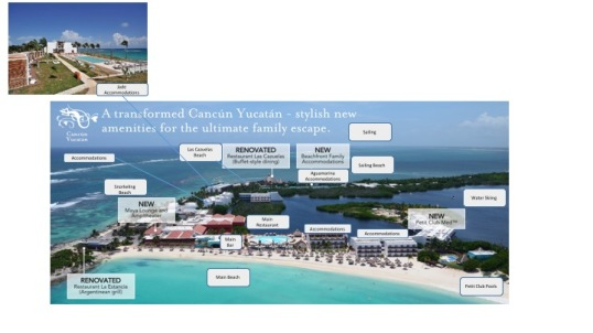 club med cancun map