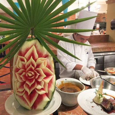 Food at Club Med Cancun Yucatan