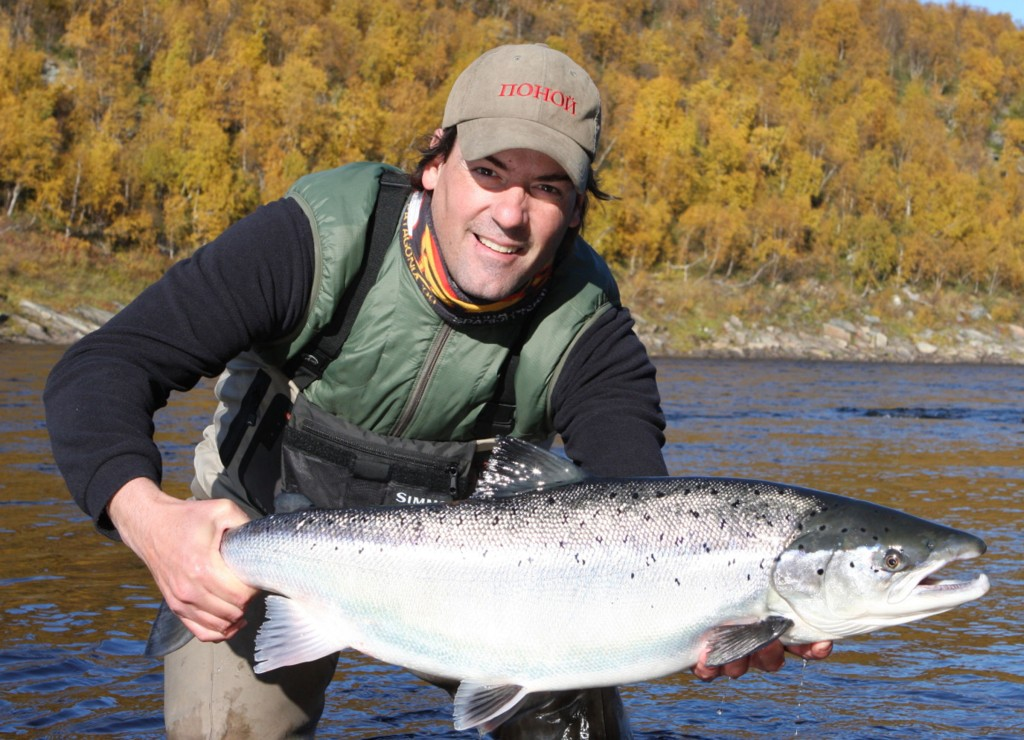 Guys Fishing Trips Ponoi River