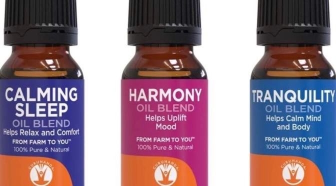 The Best Essential Oils: GuruNanda