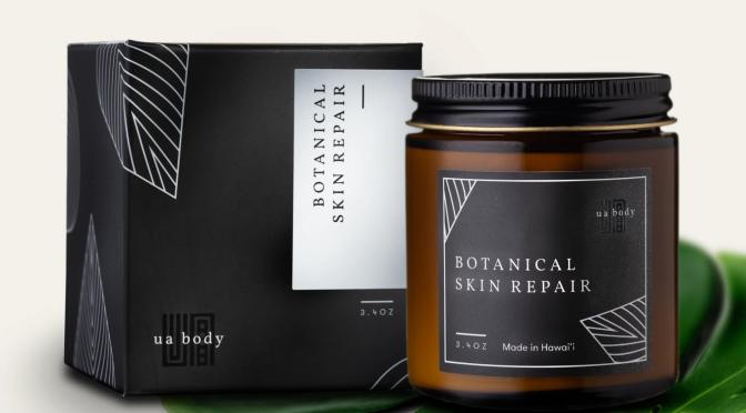 Hawaiian Beauty Secret: UA Body Botanical Skin Repair